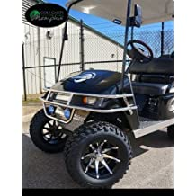 "EZGO TXT Electric Golf Cart 2001-Newer 6"" Lift Kit + 12"" Wheels and 23"" All Terrain Tires (4)"