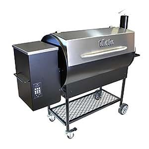 Pellet Pro Deluxe 1190 Stainless Pellet Grill - NEW 35# Capacity Hopper & 7-Year Warranty
