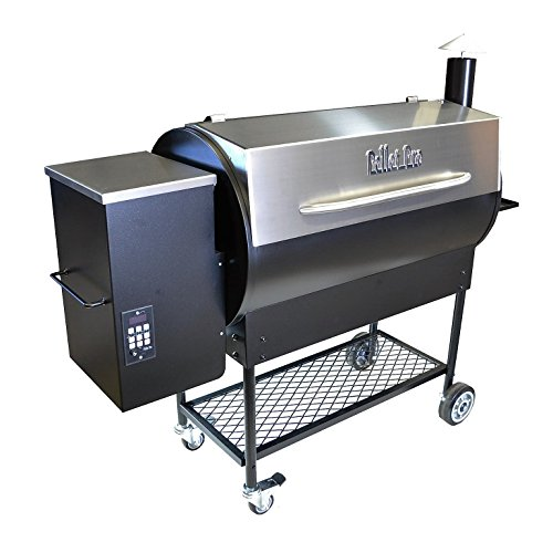Pellet Pro Deluxe 1190 Stainless Pellet Grill - NEW 35# Capacity Hopper & 7-Year Warranty