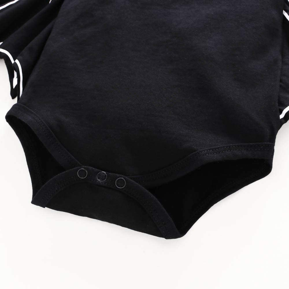Keepwin Toddler Newborn Baby Boys Girls Halloween Cosplay Costume Bat Sleeve Romper Hat Outfits Set