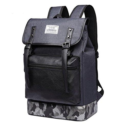 Jlyifan Oxford Shock Proof School Bag Backpack Travel Bag for 13'' 13.3'' 14'' 15'' 15.4'' 15.6 inch laptops