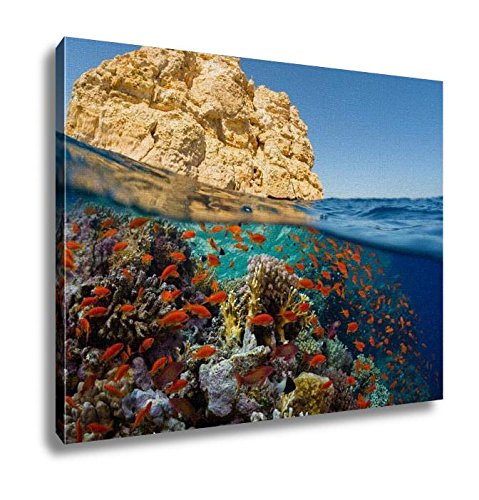 Ashley Canvas Red Sea Wall Art Decoration Picture Painting Photo Photograph Poster Artworks  20X25