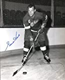 "Gordie Howe (Hockey HOF) Autographed/ Original Signed 8x10 B&W Photo Showing Him with the Detroit Red Wings - Nicknamed ""Mr. Hockey"""
