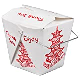 Pack of 15 Chinese Take Out Boxes PAGODA 32 oz
