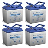 12V 35AH Battery Replacement for Ego Helio Cycle Scooter - 4 Pack