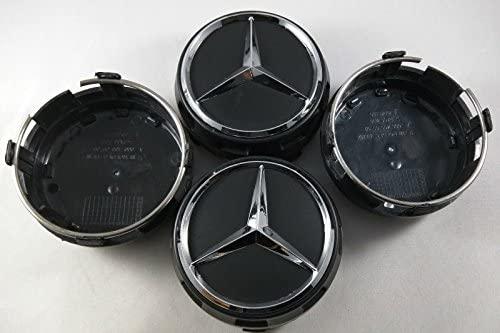 ZYFAOZHOU AMG Cars Tire Valve Cap Carbon Titanium Black Style,Dustproof Caps,Valve Caps Prevent Corrosion Air Leakproof,Protection Your Valve Stem 4Pcs//Set Black