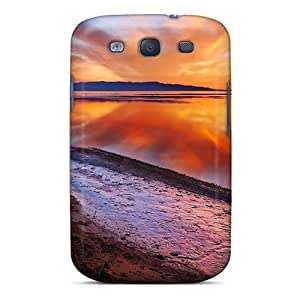 New Snap-on NikRun Skin Case Cover Compatible With Galaxy S3- Beach