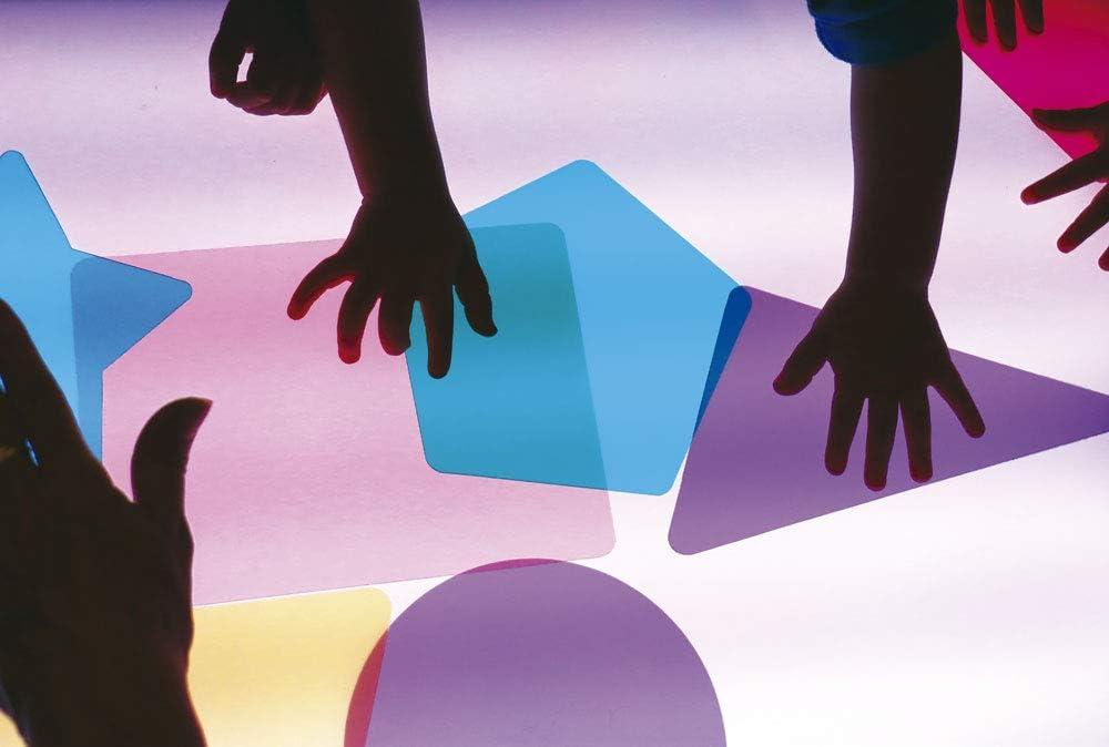 figuras caja de luz montessori
