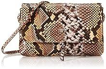 Tom Tailor AccLunaMujerBolsos bandoleraMulticolor (Snake Bunt)20x12.5x2 Centimeters (W x H x L)