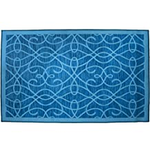 Kashi Home Normandy Rug, 3' x 5', Turquoise