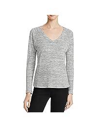 Velvet Womens Knit Long Sleeves Casual Top