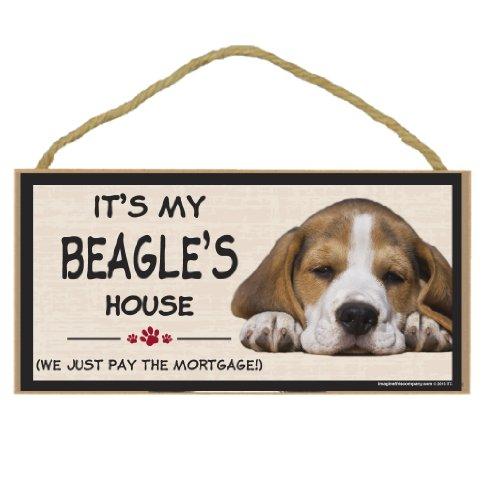 Imagine This Wood Breed Decorative Mortgage Sign, Beagle]()