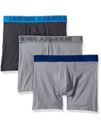 Boxers de Lifestyle  Charged Cotton 6in 3Pk para hombre Under Armour 1277279-038