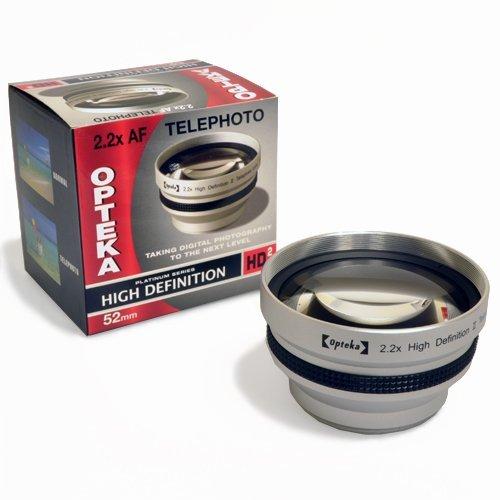 Opteka 2.2x HD2 Telephoto Lens for Sony Cyber-shot DSC-H10 H5 H3 H2 H1 F828 F717 F707 Digital Camera