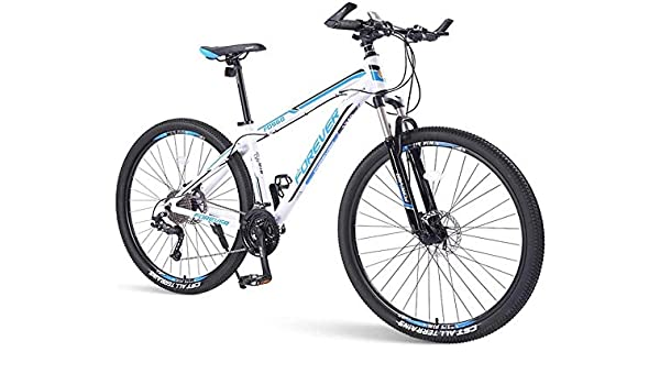LAZNG Las Bicicletas de montaña for Hombre, 33 Velocidad Hardtail ...
