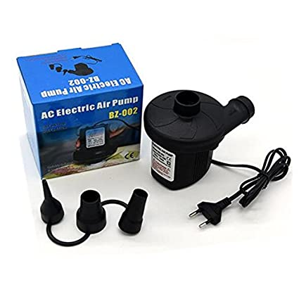 Wiiguda@Bomba de aire eléctrica 220 V, deflador bombeo automático y rápido incluyendo 3