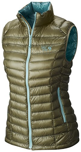 Mountain Hardwear Ghost Whisperer Down Vest - Women's Stone Green Small