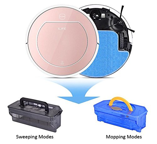 Miss Ammy ILIFE V7S Pro Smart Robot Vacuum Cleaner Wet Dry Sweeping Machine Water Tank New