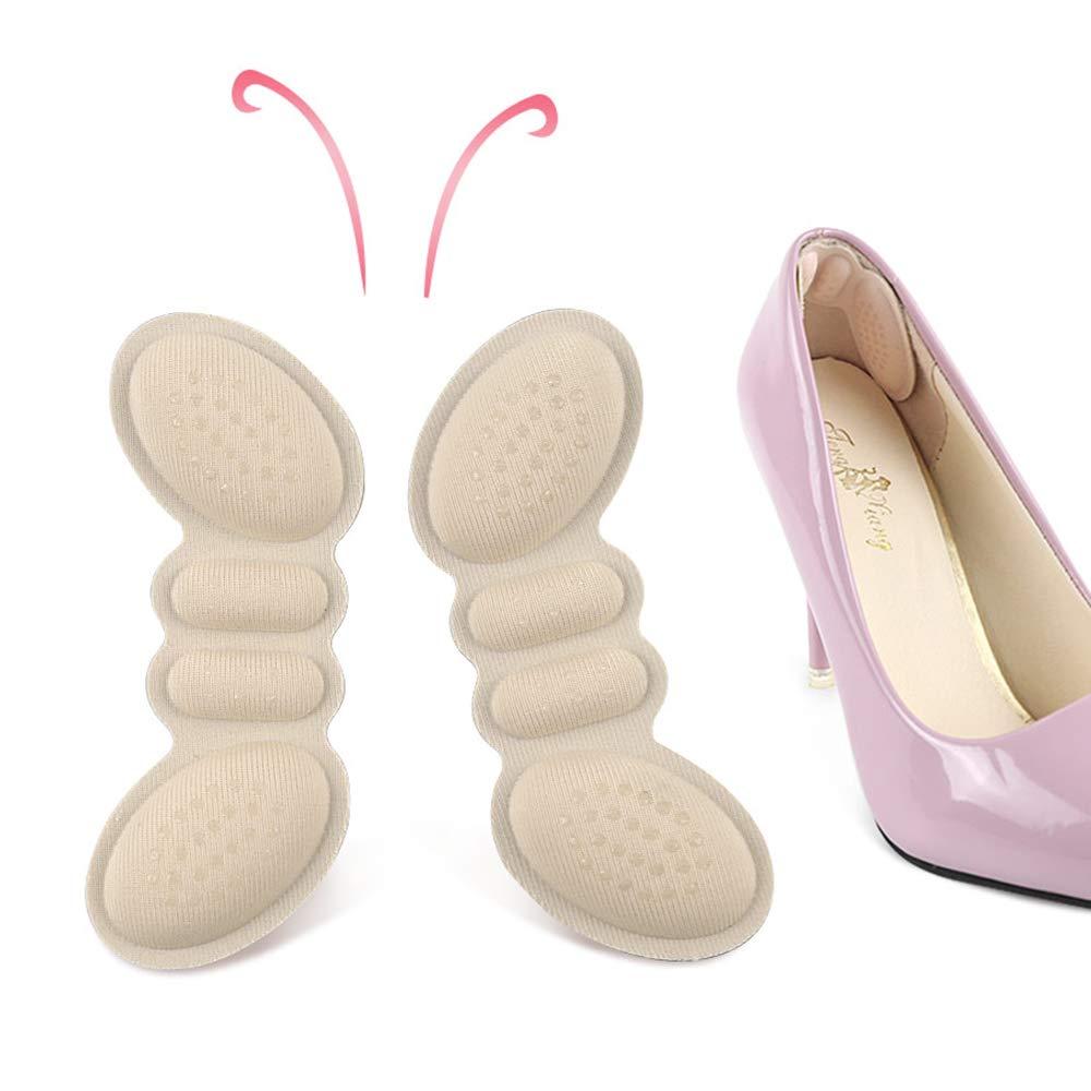 6 Unidades GuardInsoles Almohadillas de Tal/ón Para Tal/ón Antideslizantes Para Zapatos o Botas Demasiado Grandes Para Que Los Zapatos Se Ajusten Mejor
