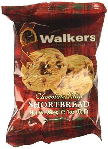 Walkers Shortbread Chocolate Chip Packages, 150 Count