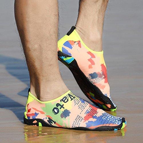 Nautiques Femmes Natation De Plein Chaussures Plage Pour Plonge Yoga Sous Sports Luoluoluo Tuba Chaussettes marine Hommes Avec Surf Air Wvnnxg