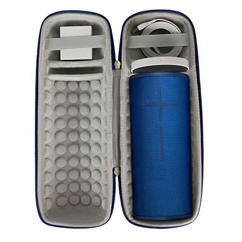 مورد سفر سخت Khanka برای گوشهای Ultimate UE MEGABOOM 3 بلندگوی بی سیم بلوتوث قابل حمل (آبی رنگ آبی)