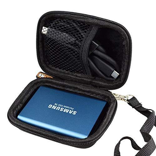 WERICO Duro Estuche Viajes Funda Bolso para Samsung T5 / T3 500GB ...