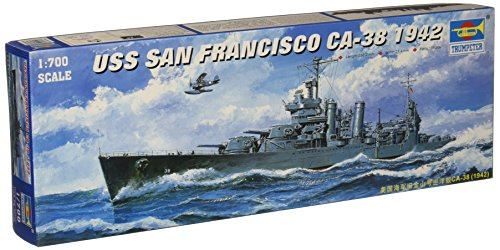 (Trumpeter 1/700 USS San Francisco CA38 Heavy Cruiser 1942 Model)