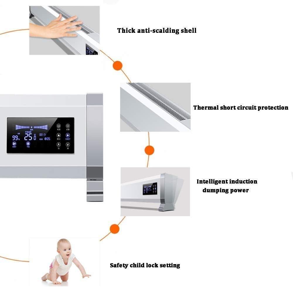 ZHWEI 加熱速度の熱電ヒータ、装着大画面ダブル排気風壁 ポータブル