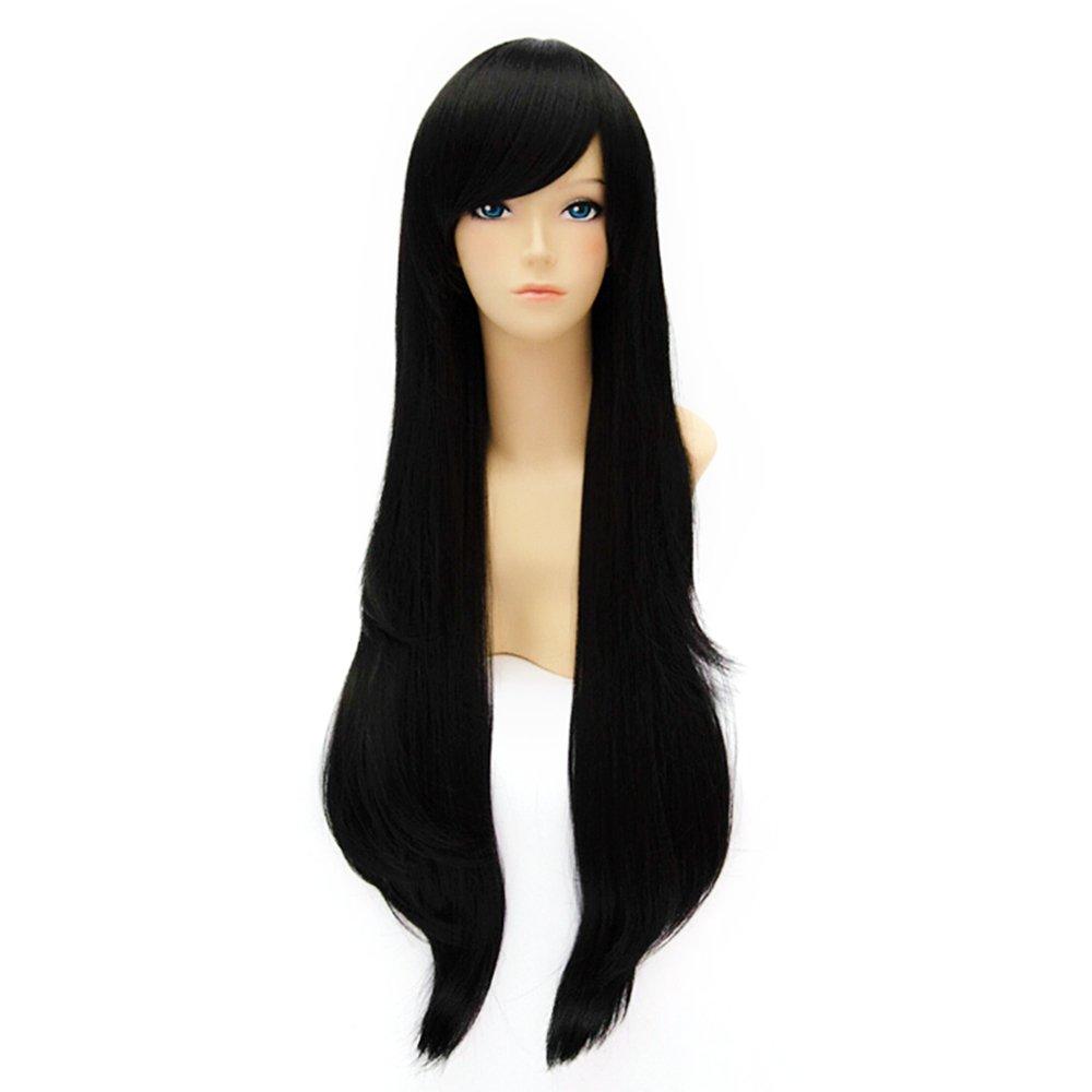 80 cm de las mujeres de la manera largo + de pelo rizado de la fiesta de ratón cuidado de la peluca tapa de cuidado de la peluca: Amazon.es: Belleza