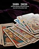 2019 - 2020 | 18 Month Weekly & Monthly Planner July 2019 to December 2020: Tarot Cards Readings  Vol 25 Monthly Calendar with U.S./UK/ ... Holidays- Calendar in Review/Notes 8 x 10 in.