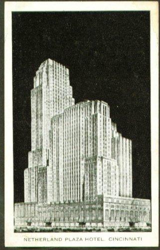 Netherland Plaza Hotel Cincinnati OH postcard 1941