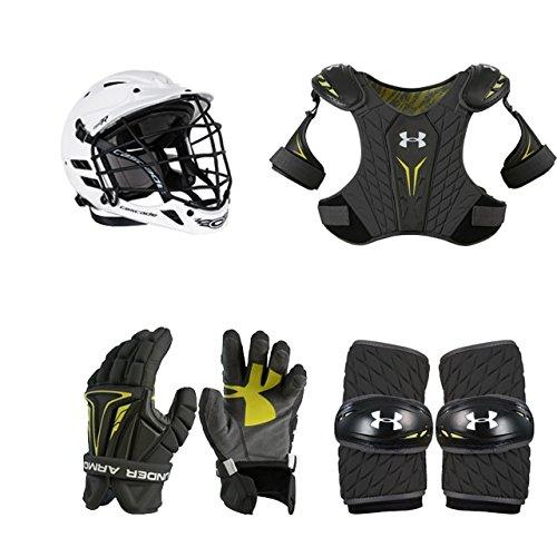 Lacrosse Starter Set 4-piece (Cascade CPV-R Helmet) XS