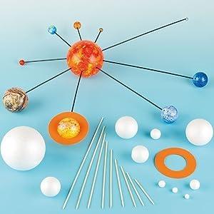 Kits de manualidades - Sistema solar - En casa con peques