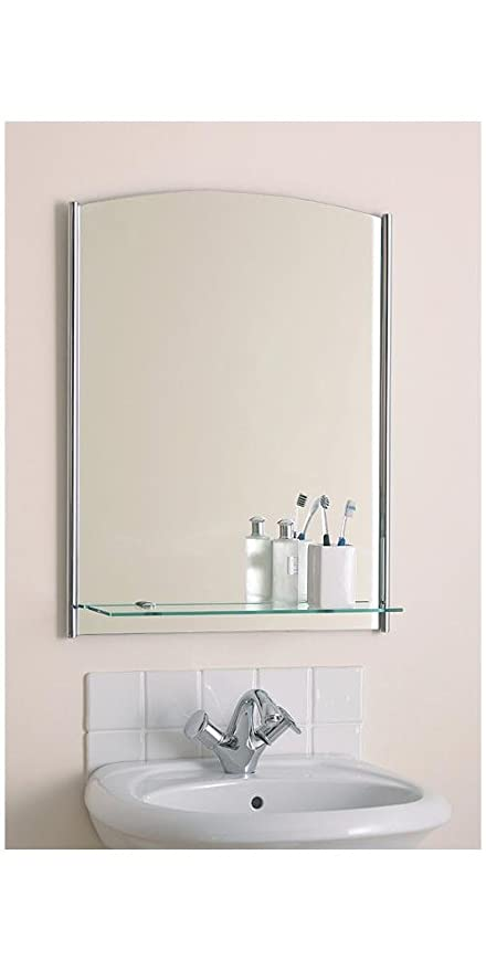 Miraculous Contemporary Bathroom Mirror With Glass Shelf Hp012293 Download Free Architecture Designs Scobabritishbridgeorg