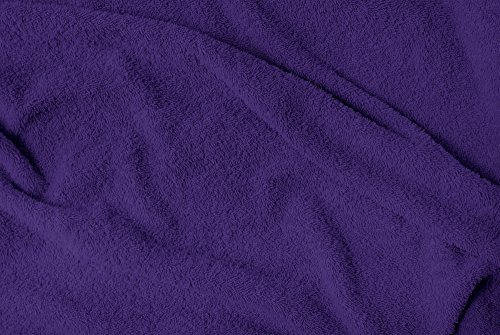 Puffy Cotton Large Bath Towel - 4 Pack Set - Oversize Bath Sheet (Hotel, Spa, Bath) Super Soft and Observant (Purple) by Puffy Cotton (Image #2)