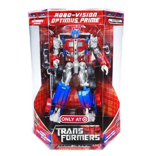 Transformers Movie RoboVision Optimus Prime (Optimus Prime Movie)