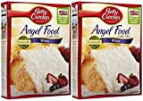 Betty Crocker White Angel Cake Mix - 16 oz - 2 pk