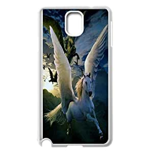 Chaap And High Quality Phone Case For Samsung Galaxy NOTE4 Case Cover -Unicorn & Pegasus Art Pattern-LiShuangD Store Case 10