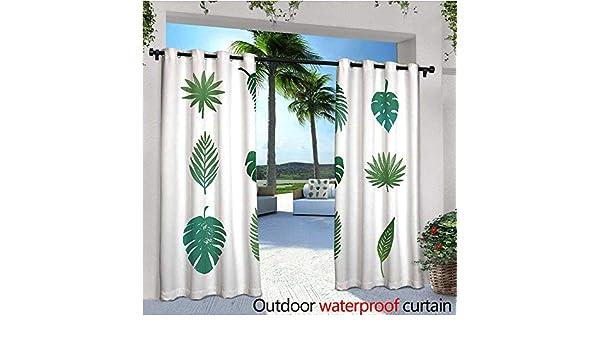 Cortinas Exteriores y Exteriores de árbol de Palma, diseño ...
