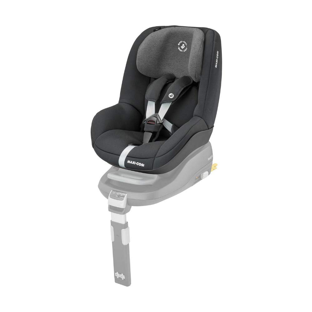 Maxi-Cosi Pearl Toddler Car Seat Group 1, ISOFIX Car Seat, Compact, 9 Months - 4 Years, 9-18 kg, Authentic Black