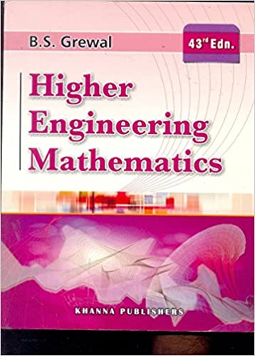 Higher Engineering Mathematics BS Grewal 43rd Edition Pdf ...