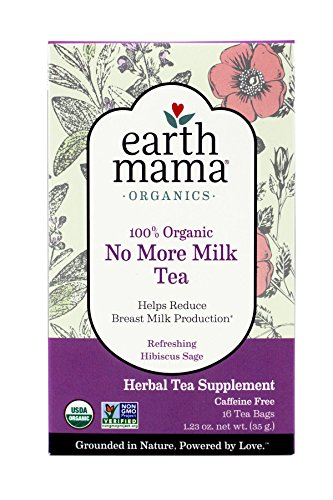Earth Mama Angel Baby Organic No More Milk Tea - 16 ct - 2 pk from Earth Mama Angel Baby