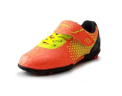 8fc70cc1480541 Amazon | [T.B] ティービー スニーカー シューズ キッズ 子供用 ジュニア サッカー ジュニア 子ども サッカー スパイク キッズ用  マジックテープ ベルクロ 子供靴 | ...