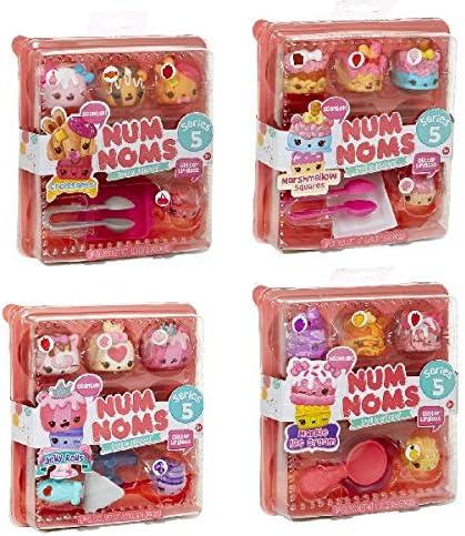 Amazon.es: Num Noms Starter Pack Asst Cocina y comida Estuche de juego - Juegos de rol (Cocina y comida, Estuche de juego, 3 año(s), Chica, Multicolor, 120, 7 mm), color/modelo surtido: Juguetes