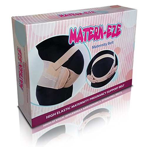 Matern-Eze Soft Maternity Back Brace Universal, X-Large, (Back Eze Belt)