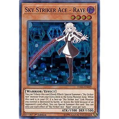 Sky Striker Ace - Raye - DASA-EN029 - Super Rare - 1st Edition: Toys & Games