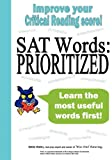 Sat Words--Prioritized, Bettie Wailes, 1938464001