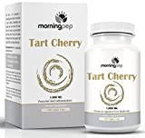 Cheap Tart Cherry Extract Supplement 180 Count 1,000 mg per Veggie Capsule by Morning Pep, Non GMO – Gluten Free and Full of Antioxidants and Flavonoids, Support Immune System Muscles and Joint Health