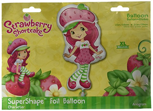 Anagram International 1933201 Strawberry Shortcake Pose Balloon Pack, 31